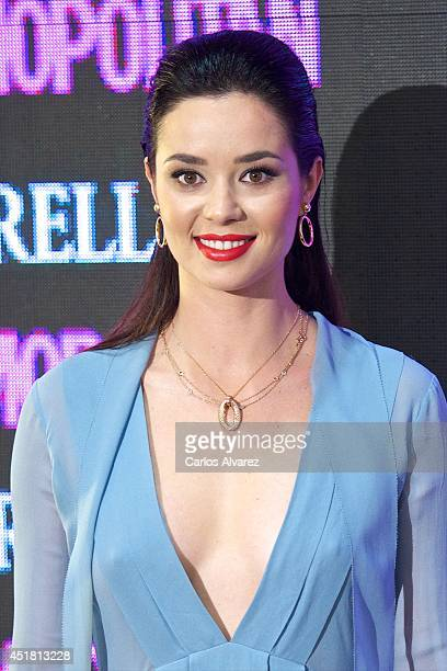 Spanish actress Dafne Fernandez attends the Cosmopolitan Beauty Awards at the Platea Restaurant on July 7 2014 in Madrid Spain