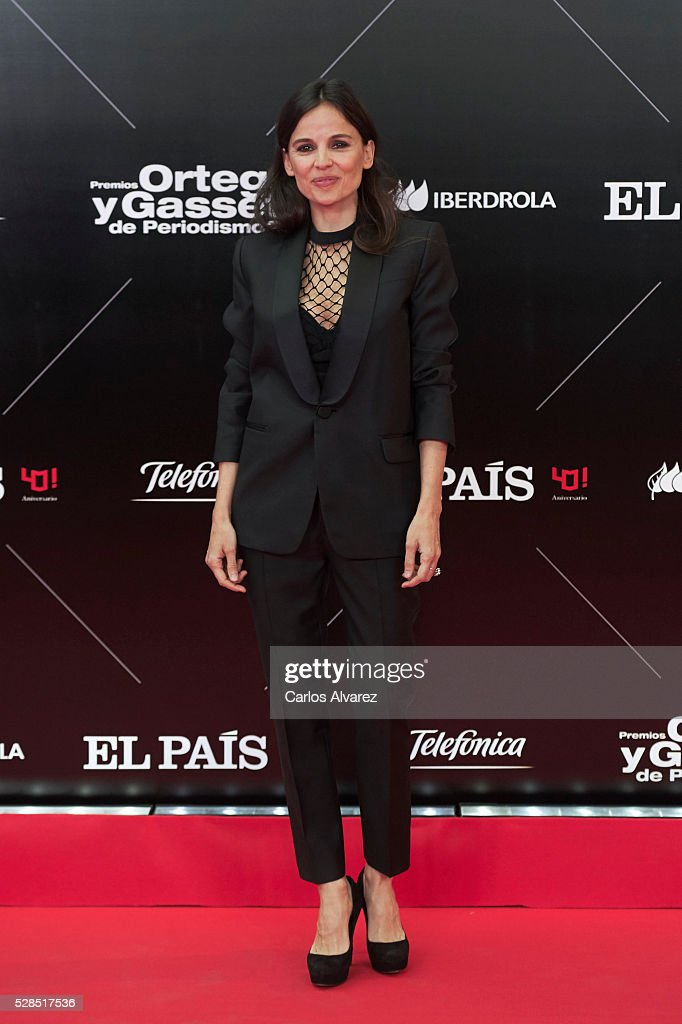 Spanish actress Elena Anaya attends 'Ortega Y Gasset' journalism awards 2016 at Palacio de Cibeles on May 05, 2016 in Madrid, Spain.
