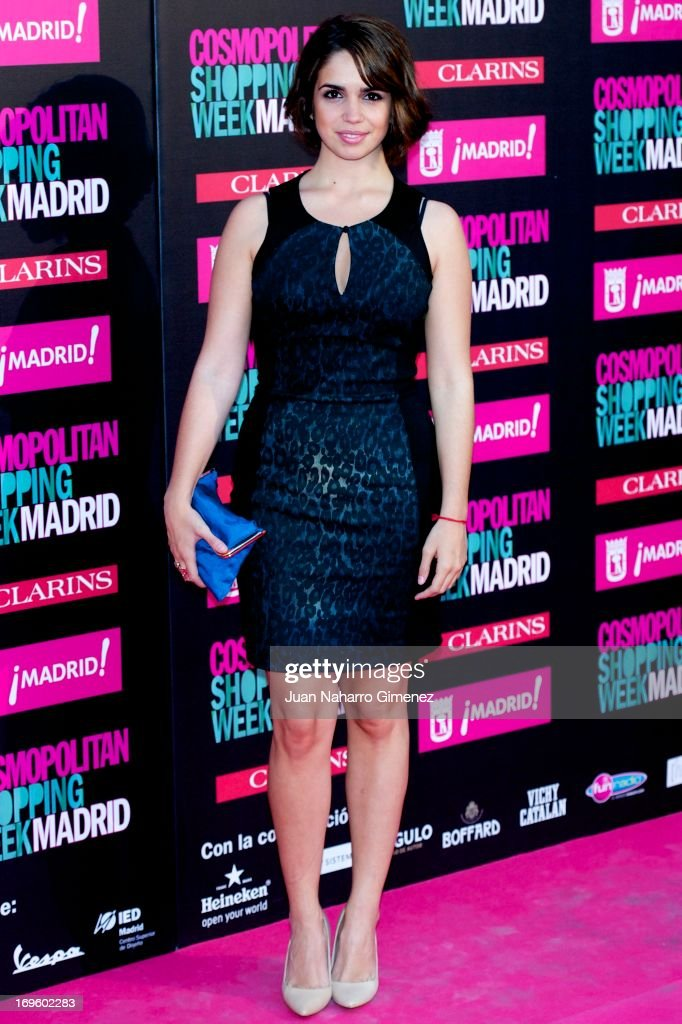 Spanish actress Elena Furiase attends the 'Cosmopolitan Shopping Week' party at the Plaza de Callao on May 28, 2013 in Madrid, Spain.