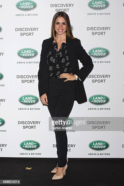 Spanish actress Elena Furiase attends the Land Rover Discovery Sport party at the Cibeles Palace on November 13 2014 in Madrid Spain