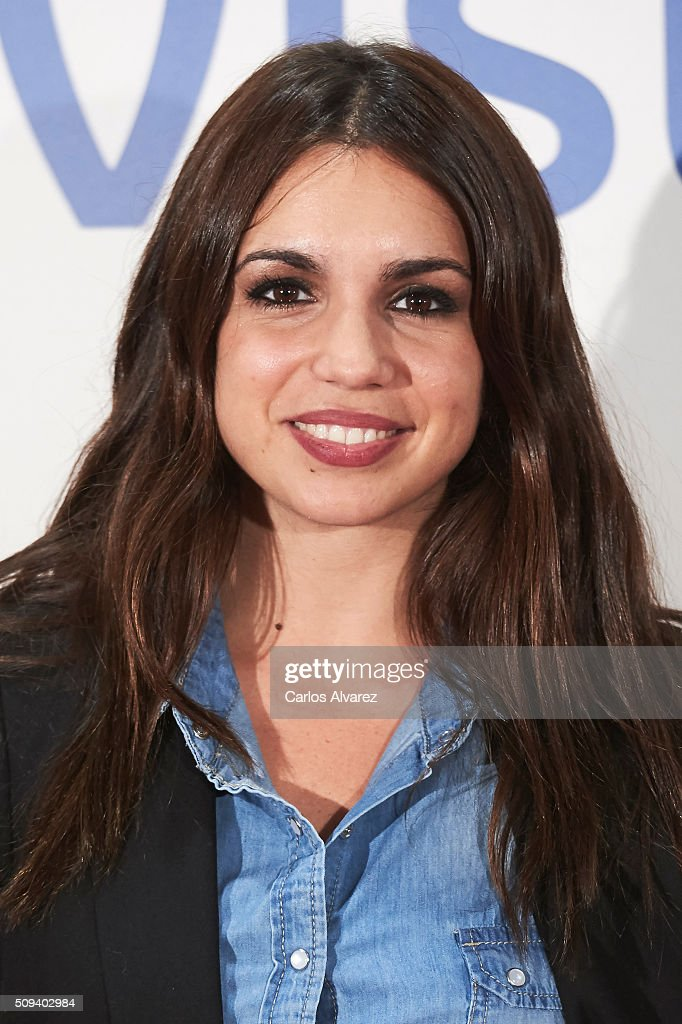 Spanish actress <a gi-track='captionPersonalityLinkClicked' href=/galleries/search?phrase=Elena+Furiase&family=editorial&specificpeople=4388104 ng-click='$event.stopPropagation()'>Elena Furiase</a> attends the 'Que fue de Jorge Sanz' premiere at the Proyecciones cinema on February 10, 2016 in Madrid, Spain.