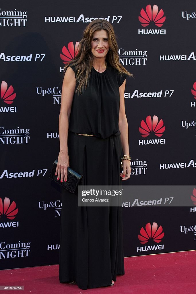 Spanish actress Elia Galera attends Huawei Ascend P7 cocktail party at the Pastrana Palace on July 1, 2014 in Madrid, Spain.