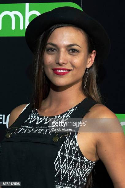 Spanish actress Elisa Mouliaa attends 'An Inconvenient Sequel Truth to Power' premiere at the Callao cinema on October 3 2017 in Madrid Spain