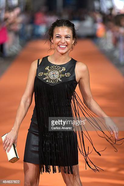 Spanish actress Elisa Mouliaa attends the 'Aguila Roja' new season premiere at the Principal Theater during the 6th FesTVal Television Festival 2014...