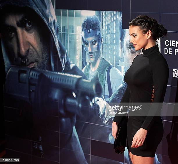 Spanish actress Elisa Mouliaa attends the 'Cien Anos de Perdon' premiere at the Capitol cinema on March 1 2016 in Madrid Spain