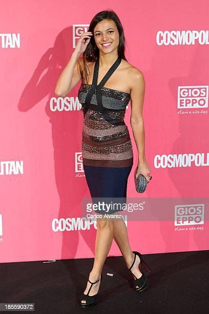Spanish actress Elisa Mouliaa attends the Cosmopolitan Fun Fearless Female Awards 2013 at the Ritz Hotel on October 22 2013 in Madrid Spain