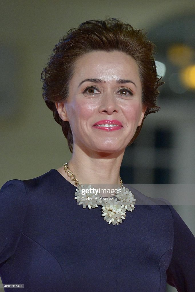 Spanish actress Fanny Gautier attends the 'Carmina y Amen' premiere during the 17th Malaga Film Festival at the Cervantes Theater on March 22, 2014 in Malaga, Spain.