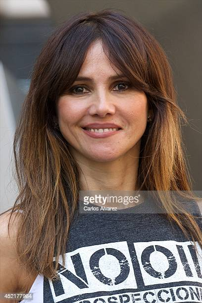 Spanish actress Goya Toledo attends 'Marsella' photocall at the Princesa cinema on July 15 2014 in Madrid Spain