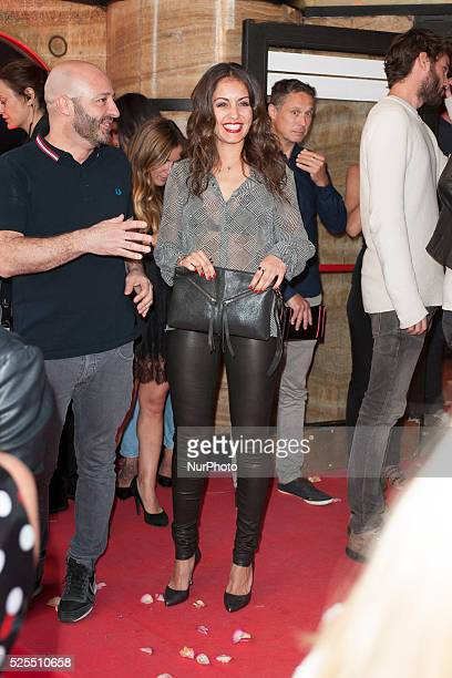 Spanish Actress Hiba Abouk attends the 'Ahora o Nunca' premier in Capitol cinema June 16 2015 in Madrid Spain
