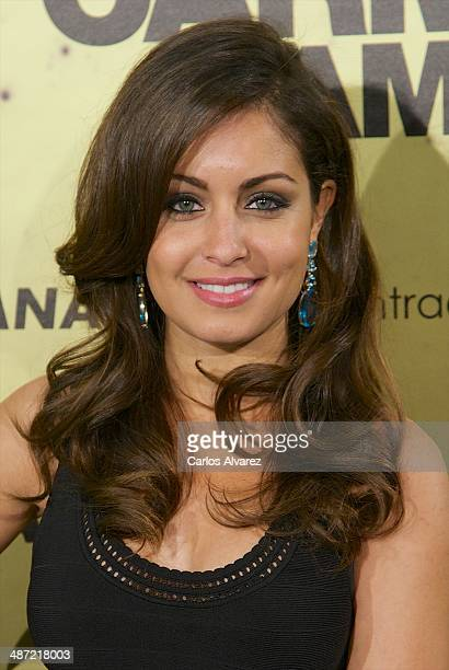 Spanish actress Hiba Abouk attends the 'Carmina y Amen' premiere at the Callao cinema on April 28 2014 in Madrid Spain