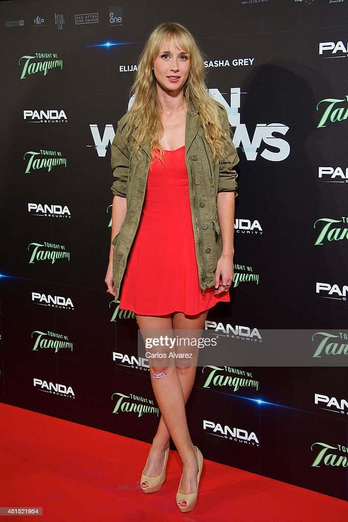 Spanish actress Ingrid Garcia Jonsson attends the 'Open Windows' premiere at the Capitol cinema on June 30 2014 in Madrid Spain