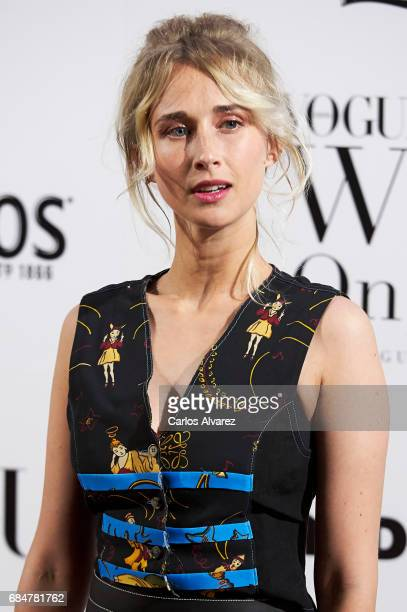 Spanish actress Ingrid Garcia Jonsson attends the 'Vogue Who's On Next' party at the El Principito Club on May 18 2017 in Madrid Spain