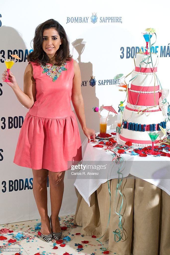 Spanish actress Inma Cuesta attends '3 Bodas de Mas' photocall at the Hesperia Hotel on December 3, 2013 in Madrid, Spain.