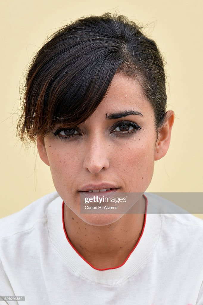 Spanish actress Inma Cuesta attends a portrait session at the Malaga Palacio Hotel during the 19th Malaga Film Festival on April 29, 2016 in Malaga, Spain.