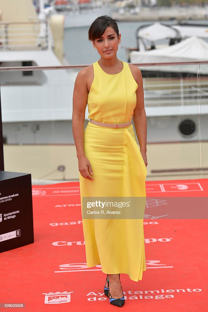 Spanish actress Inma Cuesta attends 'Koblic' photocall duing the 19th Malaga Film Festival on April 29, 2016 in Malaga, .