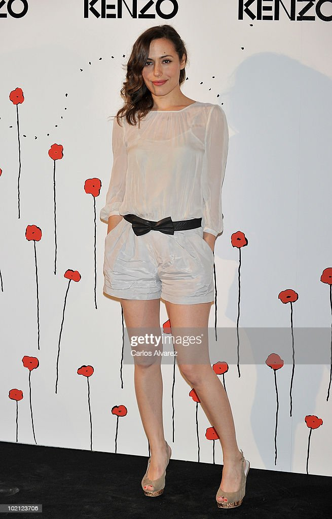 Spanish actress Irene Montala attends 'Kenzo' Party at Canal de Isabel II Foundation on June 15, 2010 in Madrid, Spain.
