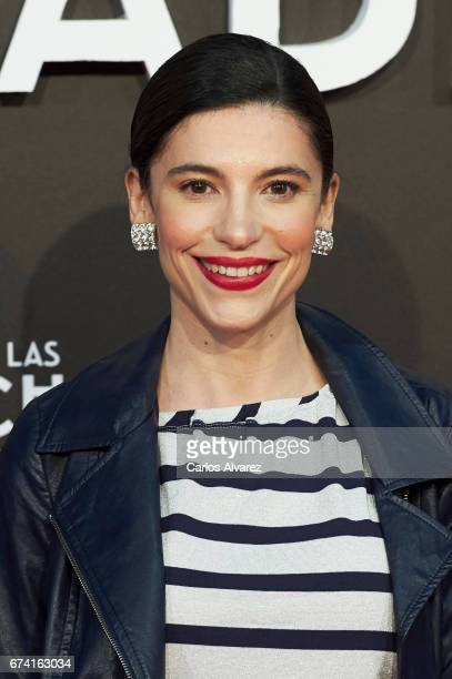 Spanish actress Irene Visedo attends 'Las Chicas Del Cable' premiere at the Callao cinema on April 27 2017 in Madrid Spain
