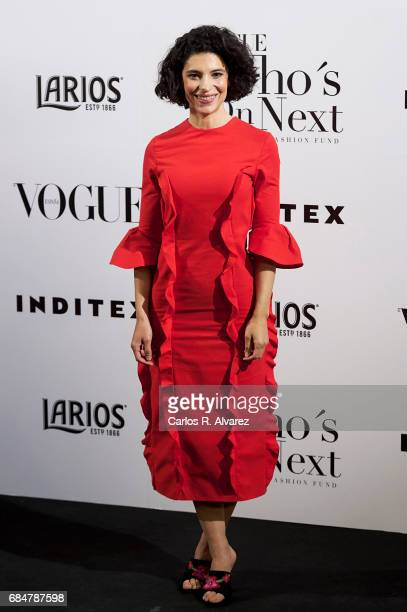 Spanish actress Irene Visedo attends the 'Vogue Who's On Next' party at the El Principito Club on May 18 2017 in Madrid Spain