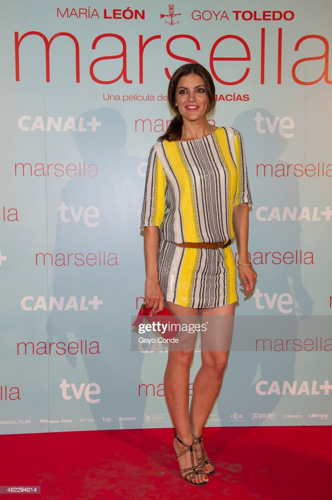 Spanish actress Jimeno Mazucco attends 'Marsella' premiere at the Capitol cinema on July 17, 2014 in Madrid, Spain.