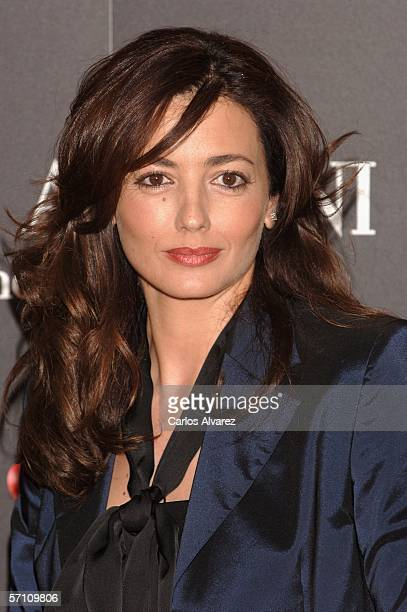 Spanish actress Jose Toledo attends the Spanish premiere for 'Volver' at the Palacio de la Musica Cinema on March 16 2006 in Madrid Spain