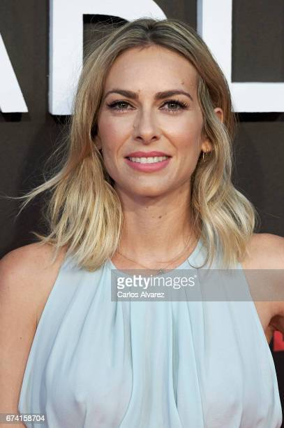 Spanish actress Kira Miro attends 'Las Chicas Del Cable' premiere at the Callao cinema on April 27 2017 in Madrid Spain