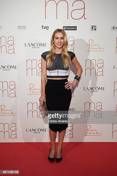 Spanish actress Kira Miro attends 'Ma Ma' premiere at the Capitol cinema on September 9 2015 in Madrid Spain