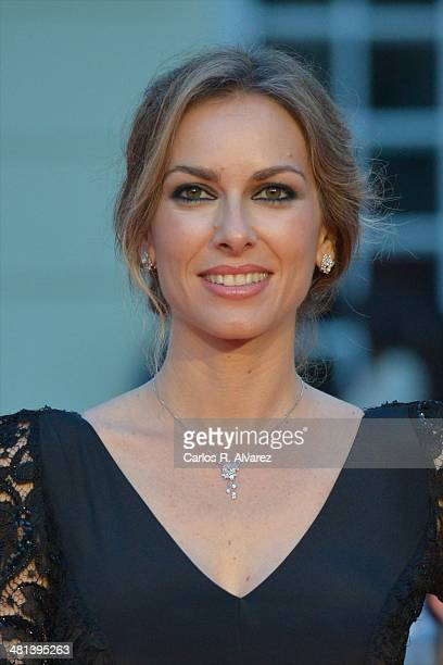 Spanish actress Kira Miro attends the 17th Malaga Film Festival 2014 closing ceremony at the Cervantes Theater on March 29 2014 in Malaga Spain