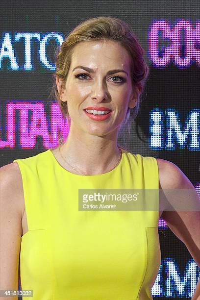 Spanish actress Kira Miro attends the Cosmopolitan Beauty Awards at the Platea Restaurant on July 7 2014 in Madrid Spain