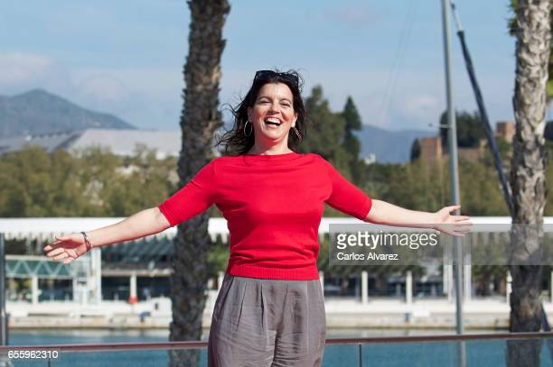 Spanish actress Laia Marull attends the 'Brava' photocall on day 5 of the 20th Malaga Film Festival on March 21 2017 in Malaga Spain