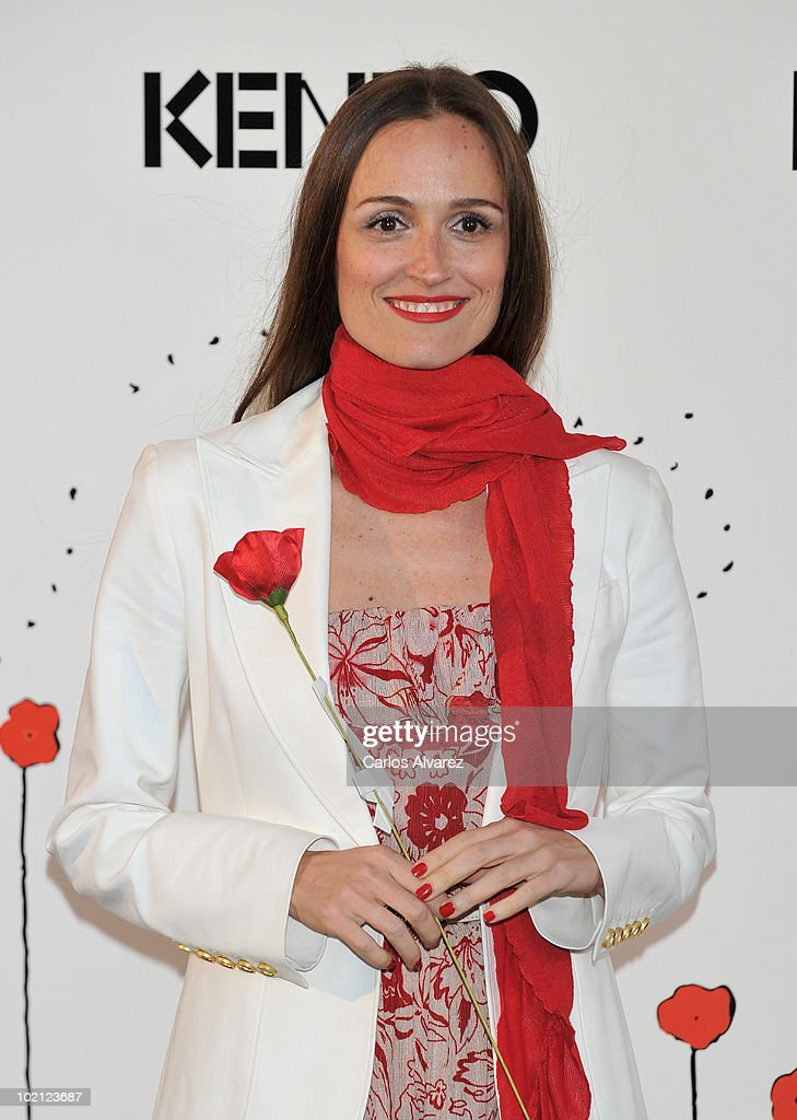 Spanish actress Laura Pamplona attends 'Kenzo' Party at Canal de Isabel II Foundation on June 15, 2010 in Madrid, Spain.
