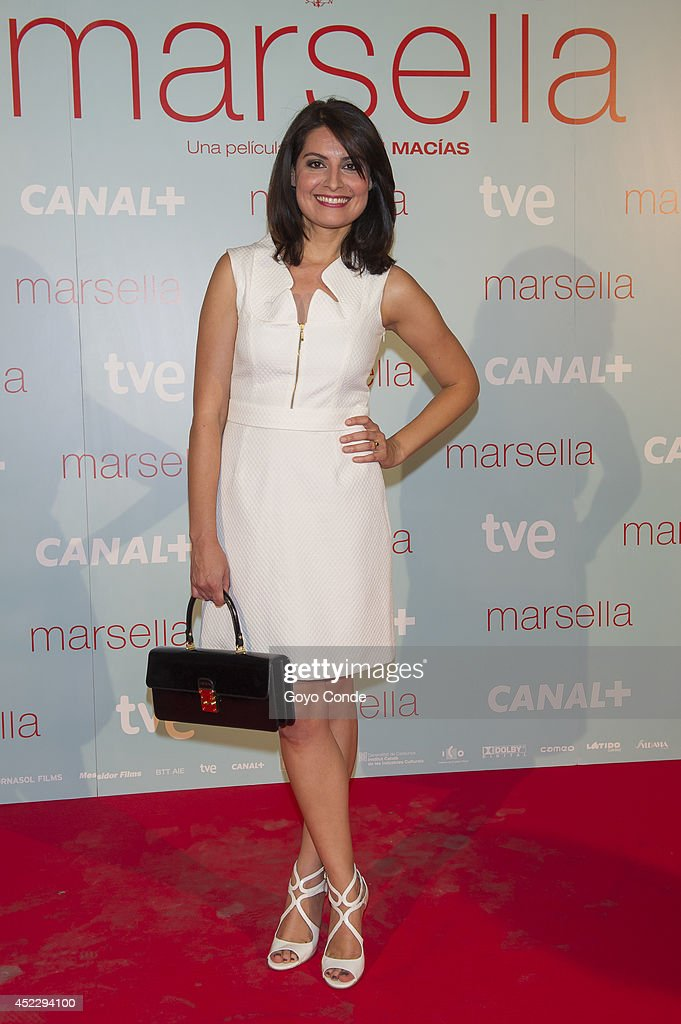 Spanish actress Ledicia Sola attends 'Marsella' premiere at the Capitol cinema on July 17, 2014 in Madrid, Spain.