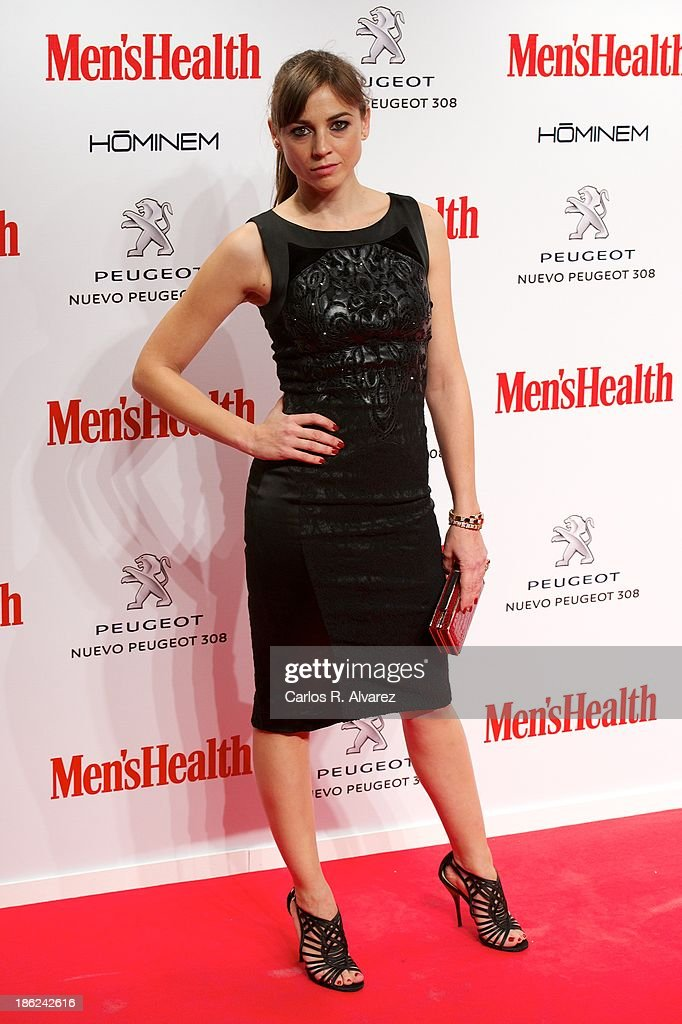Spanish actress <a gi-track='captionPersonalityLinkClicked' href=/galleries/search?phrase=Leonor+Watling&family=editorial&specificpeople=453297 ng-click='$event.stopPropagation()'>Leonor Watling</a> attends Men's Health Awards 2013 at the Canal Theater on October 29, 2013 in Madrid, Spain.