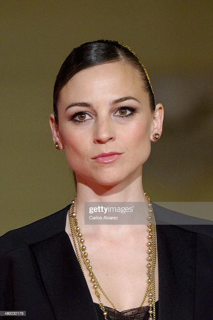Spanish actress Leonor Watling attends the 'Amor en su Punto' premiere during the 17th Malaga Film Festival at the Cervantes Theater on March 23, 2014 in Malaga, Spain.