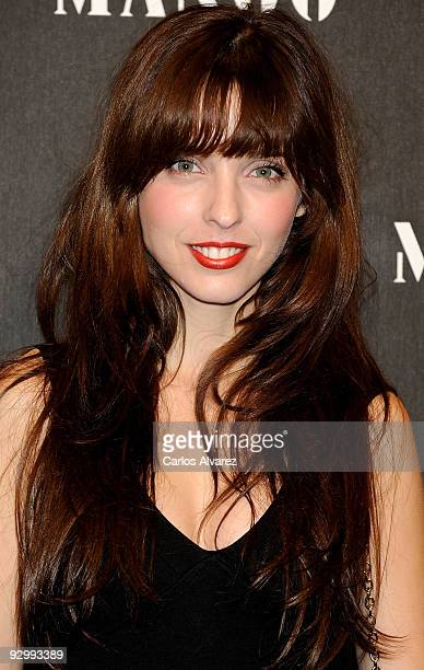 Spanish actress Leticia Dolera attends Mango New Collection launch party at 'Caja Magica' on November 11 2009 in Madrid Spain