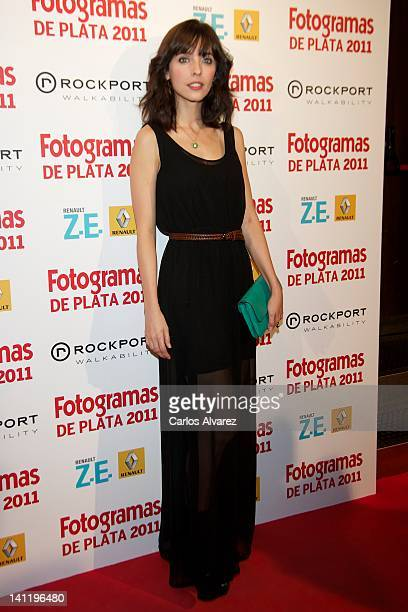 Spanish actress Leticia Dolera attends the Fotogramas Awards 2012 at Joy Eslava Club on March 12 2012 in Madrid Spain