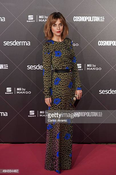 Spanish actress Leticia Dolera attends the VIII Cosmopolitan Fun Fearless Female Awards at the Ritz hotel on October 27 2015 in Madrid Spain