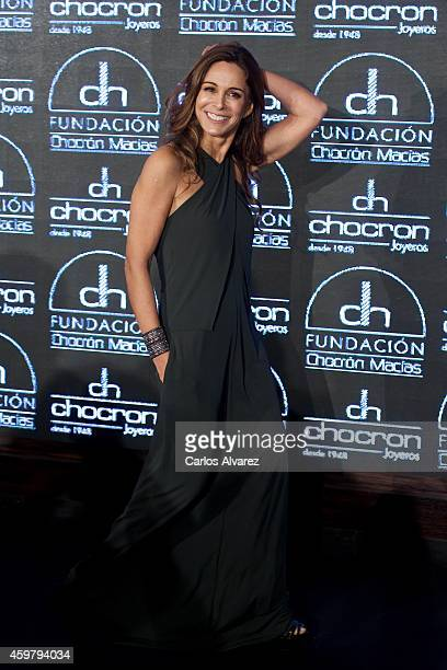 Spanish actress Lidia Bosch attends the presentation of Chocron Jewelry Charity Catalogue on December 1 2014 in Madrid Spain