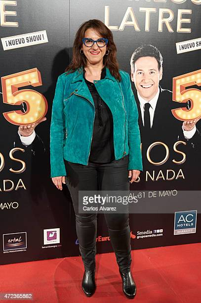 Spanish actress Llum Barrera attends '15 Anos no es Nada' premiere at the Compac theater on May 6 2015 in Madrid Spain