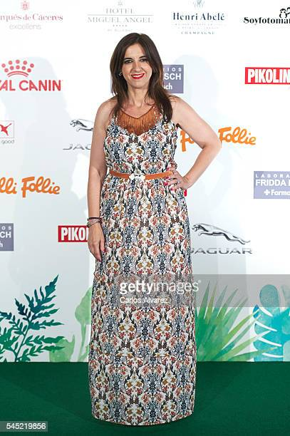 Spanish actress Llum Barrera attends Corazon Solidario Magazine Awards at Miguel Angel Hotel on July 6 2016 in Madrid Spain