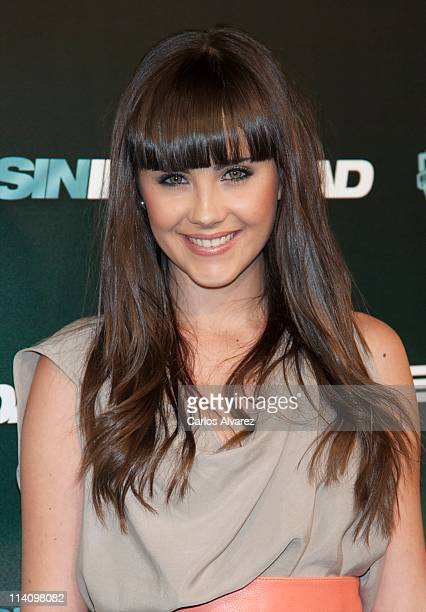 Spanish actress Lucia Ramos attends 'Sin Identidad' premiere at Capitol Cinema on May 11 2011 in Madrid Spain
