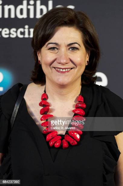 Spanish actress Luisa Martin attends the 'Imprescindibles' premiere at the Cineteca cinema on May 17 2017 in Madrid Spain