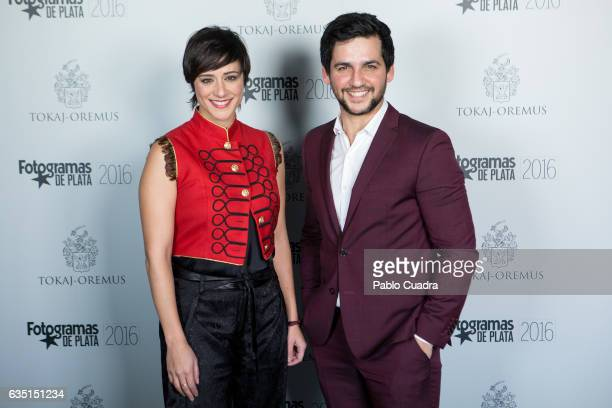 Spanish actress Luz Valdenebro and actor Fran Perea attend the 'Fotogramas de Plata' awards at 'Tatel' Restaurant on February 13 2017 in Madrid Spain
