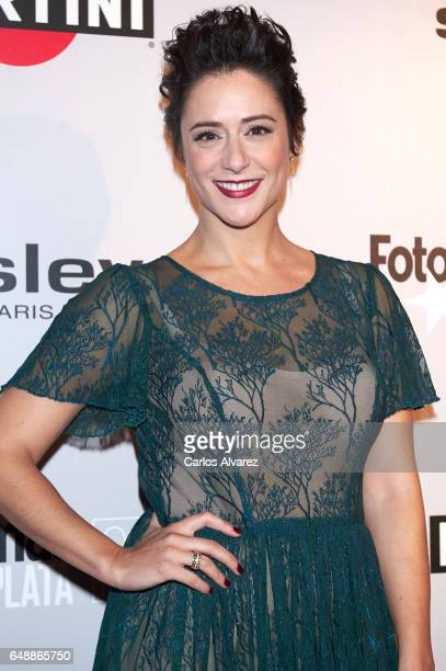 Spanish actress Luz Valdenebro attends the Fotogramas Magazine cinema awards 2017 at the Joy Eslava Club on March 6 2017 in Madrid Spain