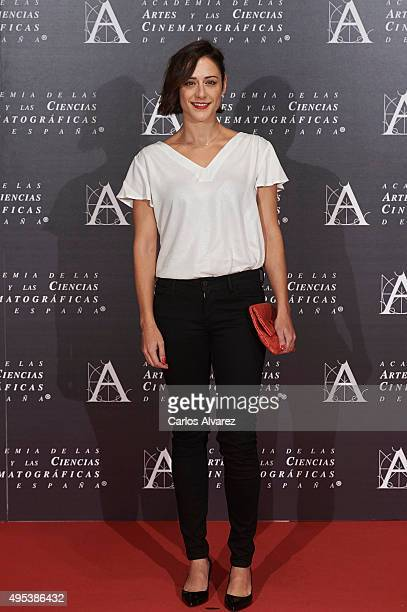 Spanish actress Luz Valdenebro attends the Golden Medal 2015 ceremony at Academia de Cine on November 2 2015 in Madrid Spain