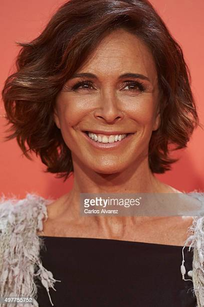Spanish actress Lydia Bosch attends the 'Ocho Apellidos Catalanes' premiere at the Capitol cinema on November 18 2015 in Madrid Spain