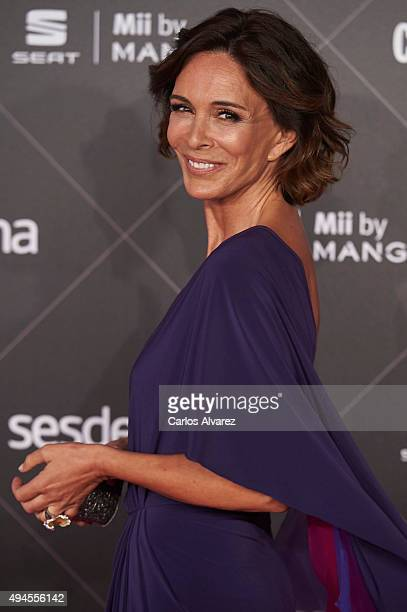 Spanish actress Lydia Bosch attends the VIII Cosmopolitan Fun Fearless Female Awards at the Ritz hotel on October 27 2015 in Madrid Spain