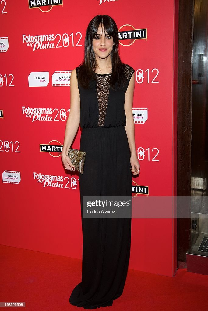 Spanish actress Macarena Garcia attends Fotogramas awards 2013 at the Joy Eslava Club on March 11 2013 in Madrid Spain