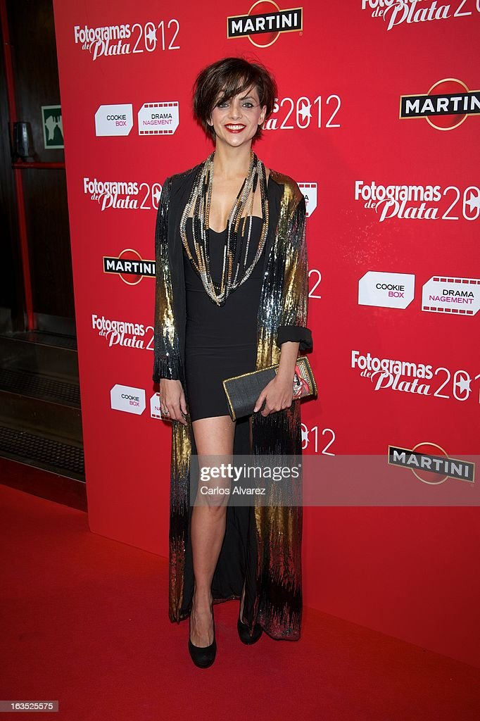 Spanish actress Macarena Gomez attends Fotogramas awards 2013 at the Joy Eslava Club on March 11, 2013 in Madrid, Spain.