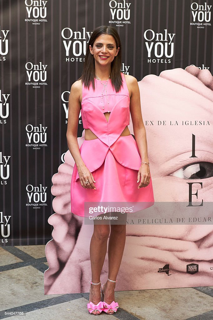 Spanish actress <a gi-track='captionPersonalityLinkClicked' href=/galleries/search?phrase=Macarena+Gomez&family=editorial&specificpeople=2532473 ng-click='$event.stopPropagation()'>Macarena Gomez</a> attends 'Pieles' photocall at the Only You Hotel on July 1, 2016 in Madrid, Spain.