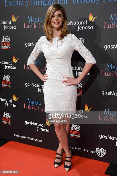 Spanish actress Manuela Velasco attends 'Inquilinos' premiere photocall at Madrid Premiere Week on December 2 2014 in Madrid Spain